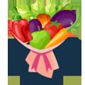 Овощные букеты - Kvit-land