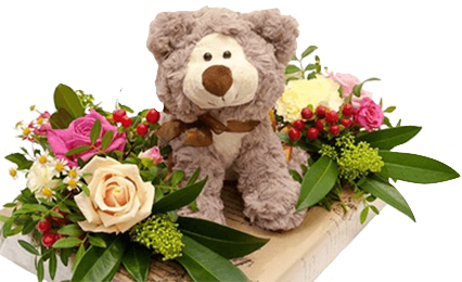Мягкие игрушки с цветами - Kvit-land