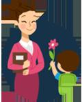 Букеты для учителя - Kvit-land
