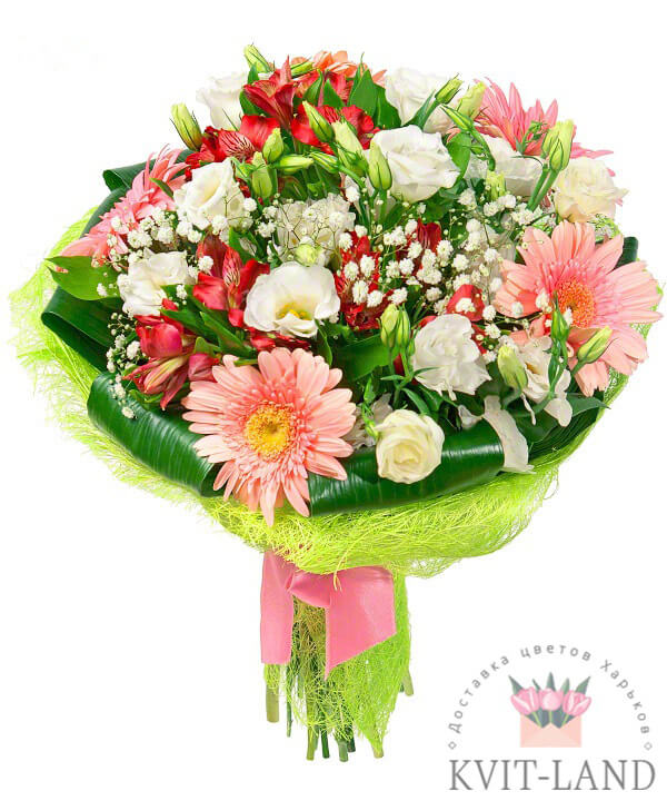 красивый букет цветов