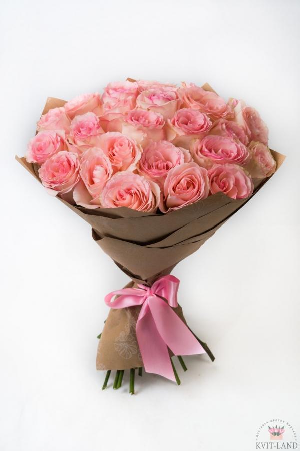 пионовидная роза 25 шт.