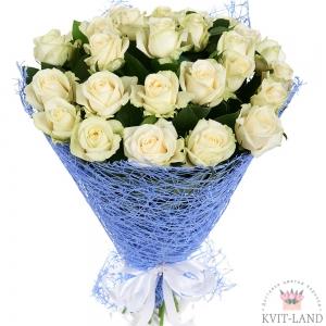 букет белыз роз