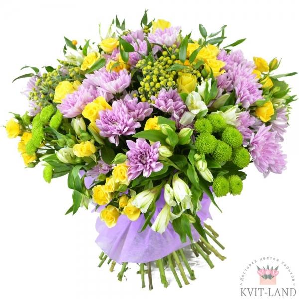 букет цветов большой микс