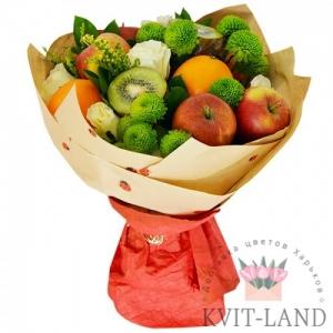букет из фруктов и зелени