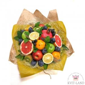 букет из разных фруктов