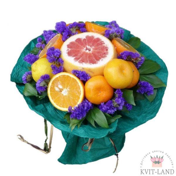 из цитруса фруктовый букет