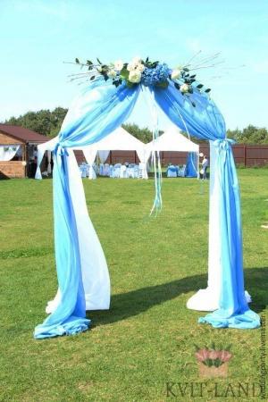 красивая свадебная арка
