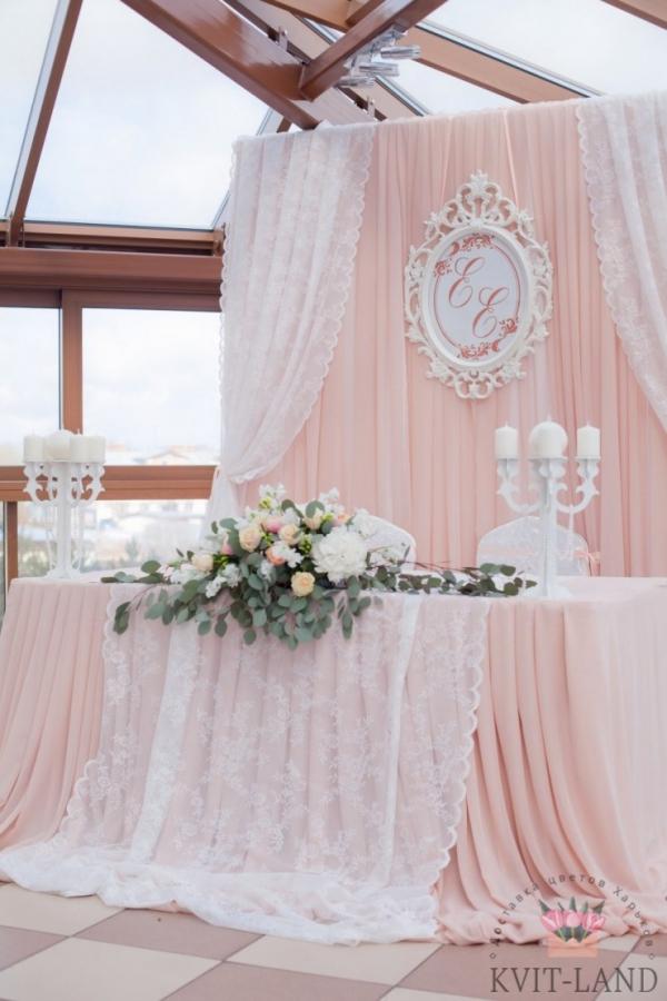 цветочное офромление зоны церемонии