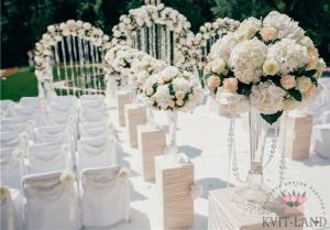 зона церемонии украшение цветами