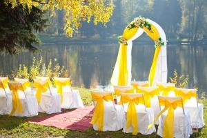 свадебная зона церемонии