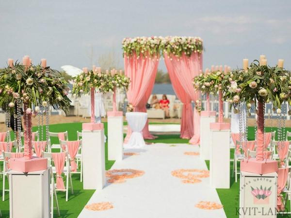 красивая зона церемонии