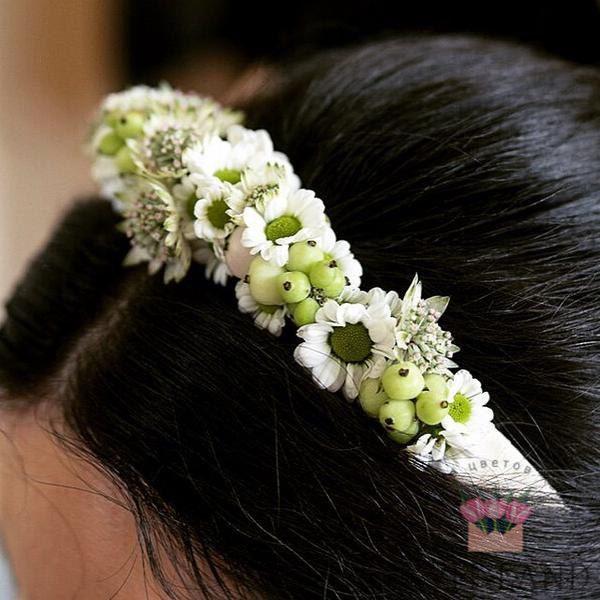 цветочный венок невесты