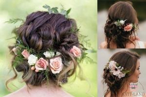 венок невесты из розы