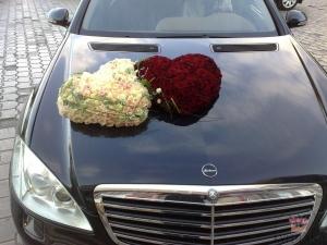 свадебное оформление авто