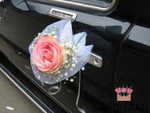 свадебный декор автодвери