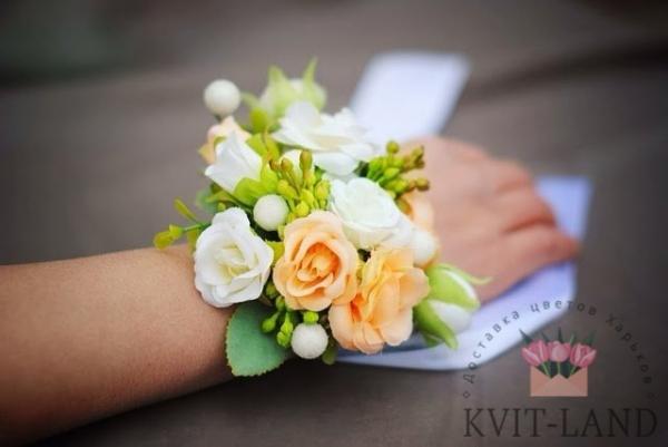свадебный браслет невесты