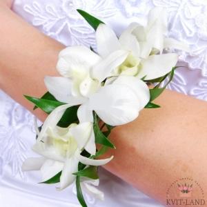 цветочный браслет невесты