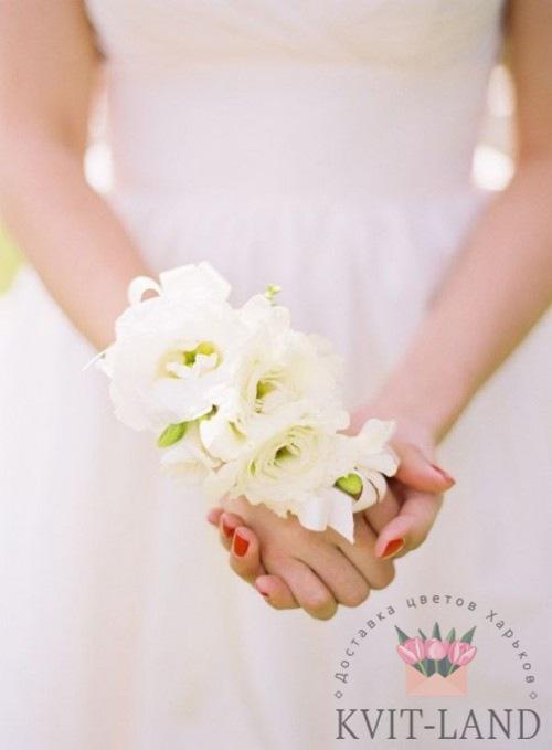 из орхидеи браслет невесты