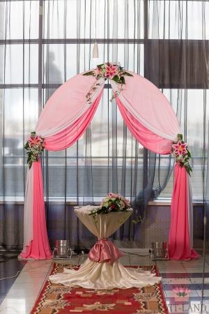 красивая арка свадебная