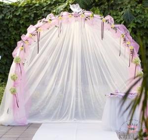 украшенная арка на свадьбу