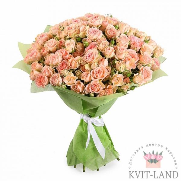 кустовая роза букет