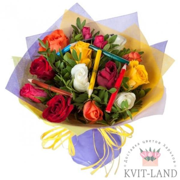 букет цветов на день знаний