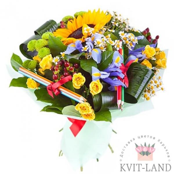 цветы на день знаний