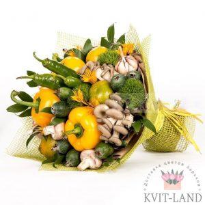 шикарный букет из овощей