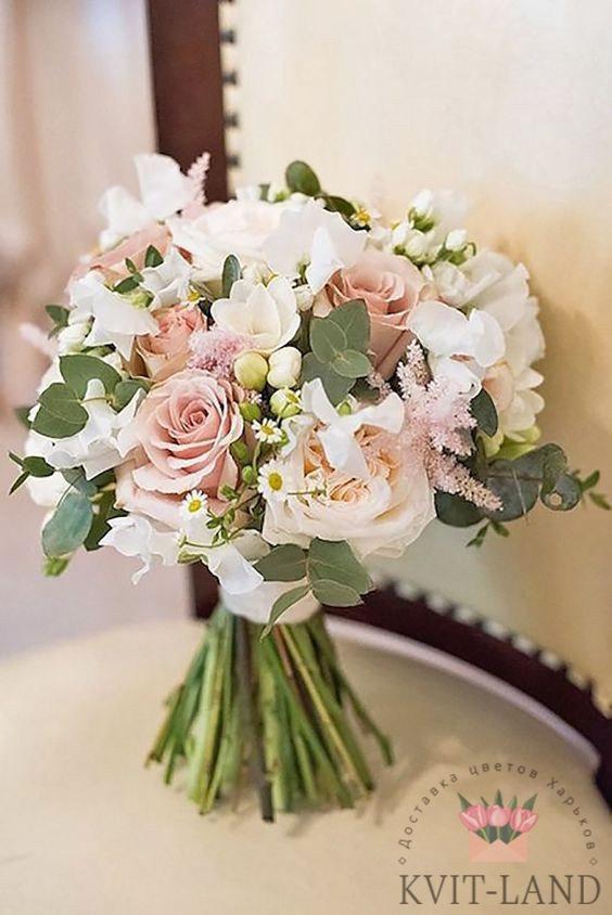 букет невесты классический