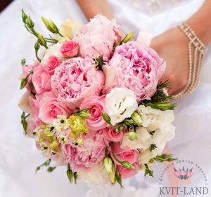 стильный букет на свадьбу