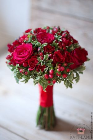букет невесты красивый