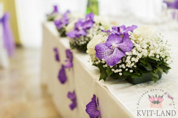 свадебное оформление стола