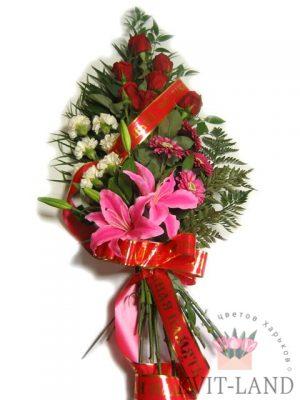 букет памянальный из цветов