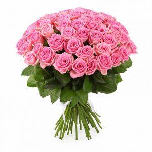 пятьдесят одна розовая роза