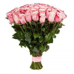 букет из голландской розы