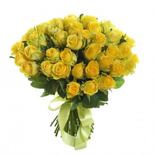 пятьдесят одна желтая роза