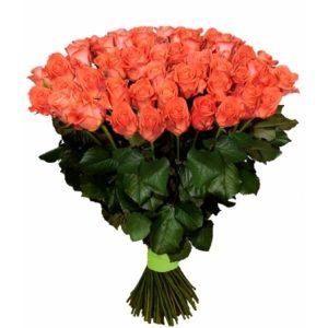 пятьдесят одна коралловая роза