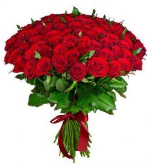 пятьдесят одна красная роза
