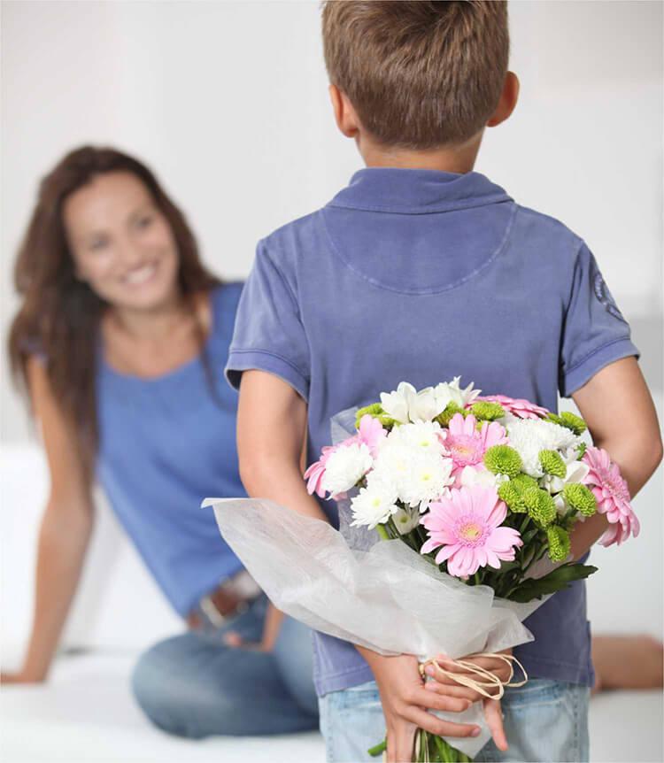 Желаете заказать в Харькове цветы на День матери с услугой доставка цветов?