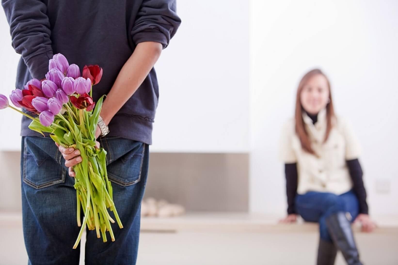 Купить цветы любимой в Харькове с услугой доставка цветов – самое лучшее из решений