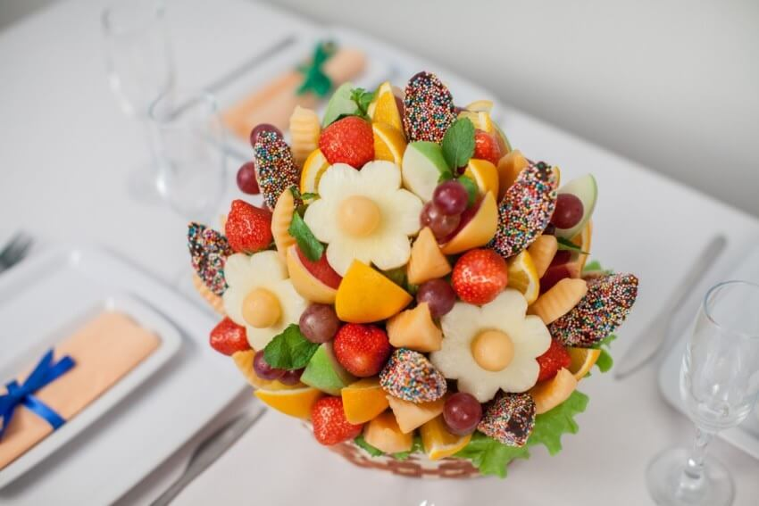 фруктовый сладкий букет