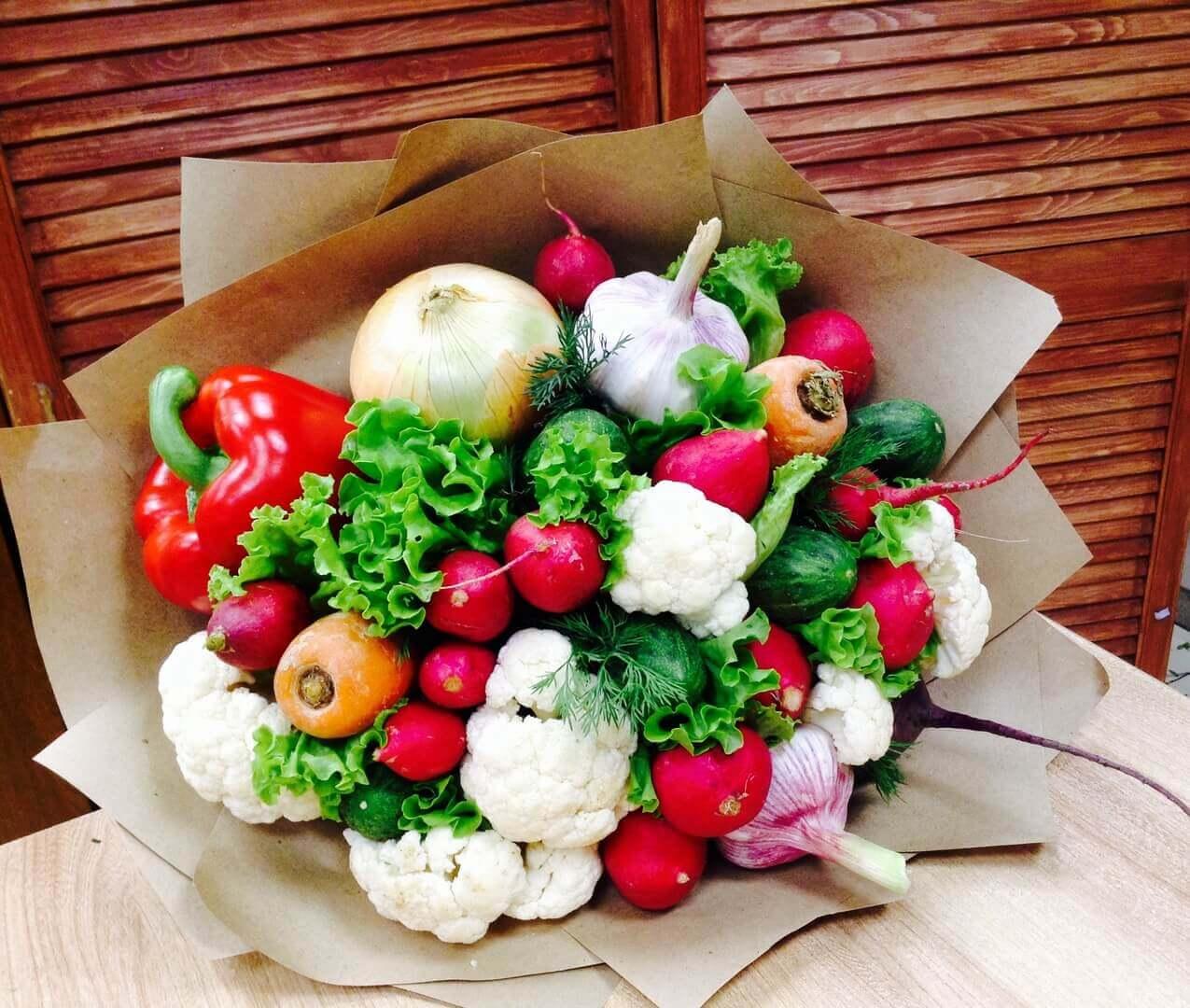 букет овощной большой